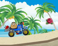 Pou beach ride online j�t�k